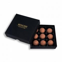 Oscuro | 9 trufas de chocolate