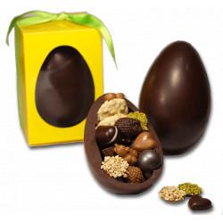 huevo pascua | chocolate negro